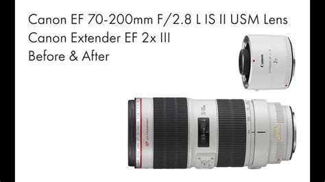 Canon EF Extender 2x iii Test on 70D with 70-200mm F/2