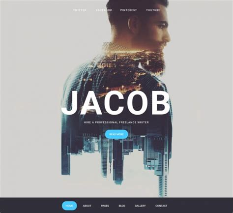10+ Cool Website Themes & Templates | Design Trends