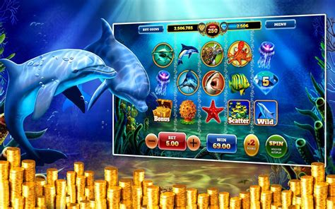 Dolphin Treasures Slots Pokies for Android - APK Download