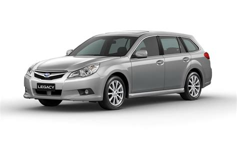 European-Spec 2010 Subaru Legacy and Outback to Debut in