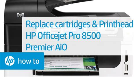 Replacing Cartridges and the Printhead - HP Officejet Pro