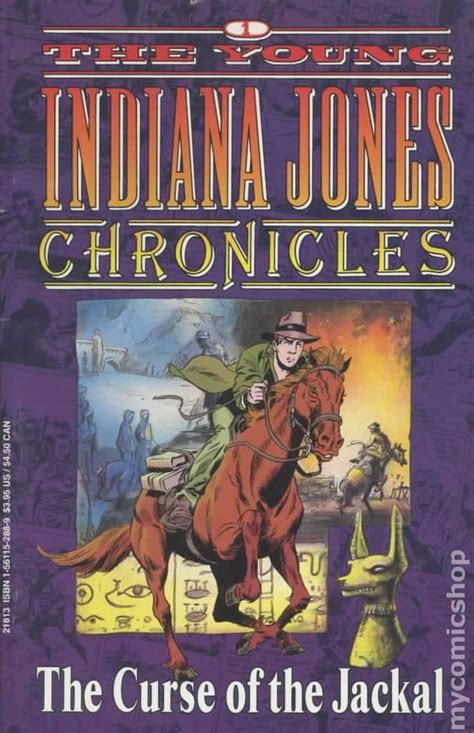 Young Indiana Jones Chronicles (1992) Hollywood comic books