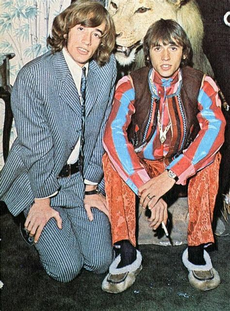 Robin and Maurice | Bee gees, Robin pictures, Andy gibb