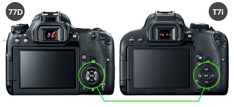 Canon T7i vs 77D : Which Should You Buy? - Light And Matter