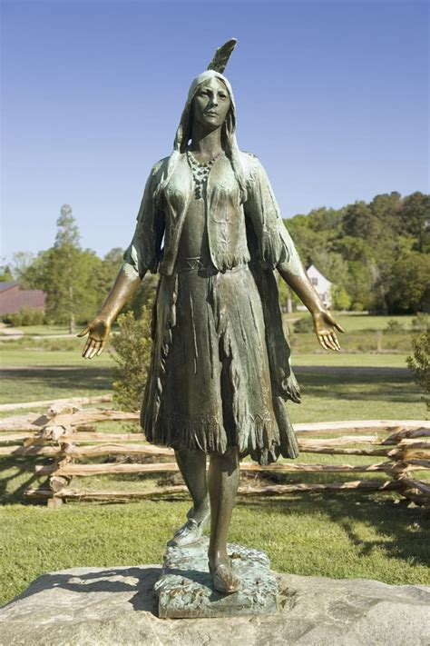 Visit James City County and the Pocahontas Statue