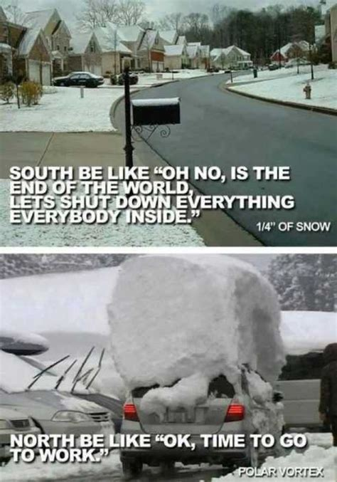40 Hilarious Winter and Snow Memes for When You're