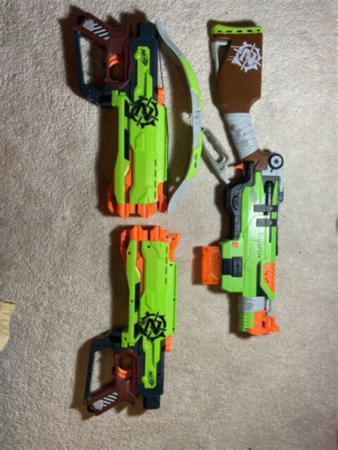 nerf zombie lot (set Of Three) Great Condition   eBay