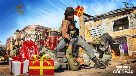 Black Ops Cold War Christmas Cosmetics Are Here, Free