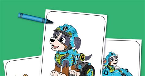 Print This! PAW Patrol Dino Rescue Coloring Pack