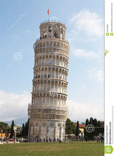 Leaning Tower Of Pisa Stock Photos - Image: 18409893